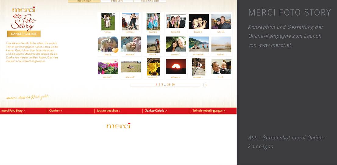 Werbeagentur Oberhauser Reitbauer Merci Fotostory